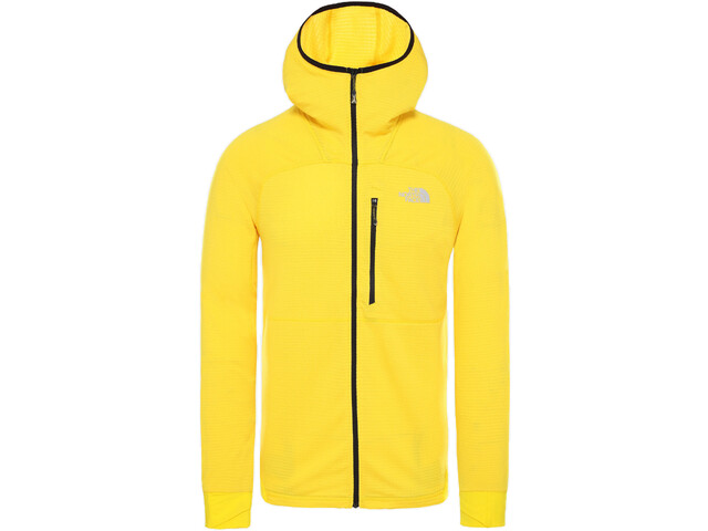 The North Face L2 Proprius Fleece Hoodie Jacket Men canary yellow